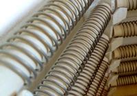 Les éléments de chauffage des fours industriels