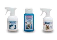 Produits cosmétiques pour chats et chiens