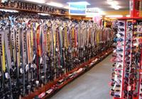 Bureau de location de skis et de snowboards