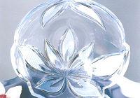 Cristal au plomb décoré à la main