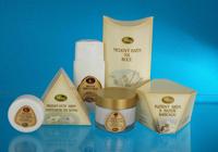Crèmes pour le visage au miel